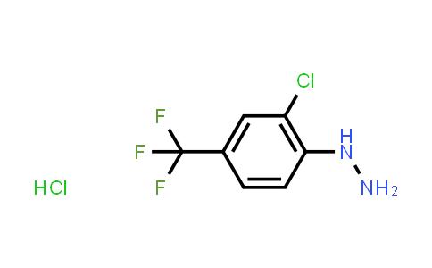 1029649-46-4 | (2-Chloro-4-(trifluoromethyl)phenyl)hydrazine hydrochloride