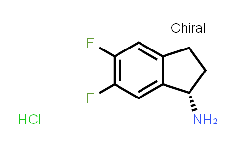 1029689-74-4 | (S)-5,6-Difluoro-2,3-dihydro-1H-inden-1-amine hydrochloride