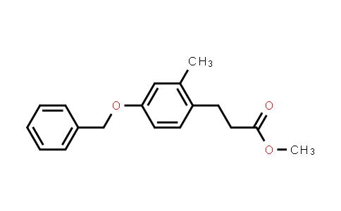 103-39-9 | Benzenepropanoic acid, 2-methyl-4-(phenylmethoxy)-, methyl ester