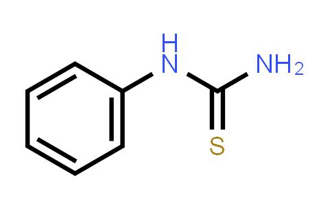 103-85-5   Phenylthiourea