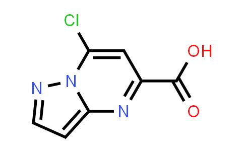 1030019-33-0 | 7-Chloropyrazolo[1,5-a]pyrimidine-5-carboxylic acid