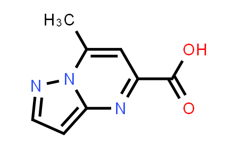 1030019-36-3   7-Methylpyrazolo[1,5-a]pyrimidine-5-carboxylic acid