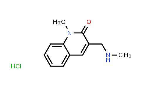 1030022-56-0 | 1-Methyl-3-((methylamino)methyl)quinolin-2(1H)-one hydrochloride