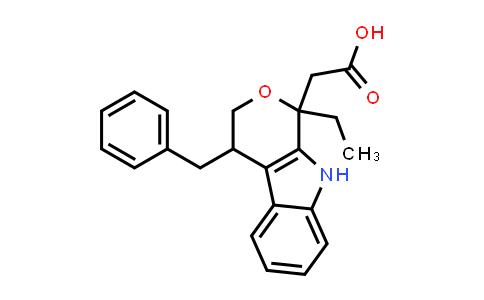 103024-44-8 | 1-Ethyl-1,3,4,9-tetrahydro-4-(phenylmethyl)pyrano[3,4-b]indole-1-acetic acid