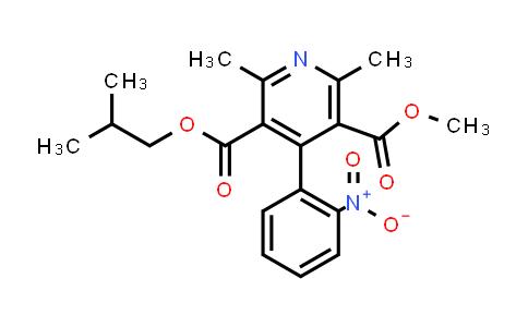 103026-83-1 | 3-Isobutyl 5-methyl 2,6-dimethyl-4-(2-nitrophenyl)pyridine-3,5-dicarboxylate