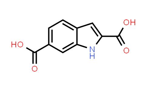 103027-97-0 | 1H-Indole-2,6-dicarboxylic acid