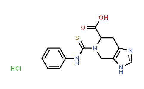 1030285-50-7 | 5-(Anilinocarbonothioyl)-4,5,6,7-tetrahydro-3H-imidazo[4,5-c]pyridine-6-carboxylic acid hydrochloride