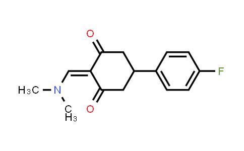 1030419-83-0 | 2-[(Dimethylamino)methylene]-5-(4-fluorophenyl)-1,3-cyclohexanedione