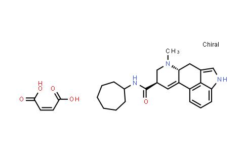 103070-86-6   (6aR,9R)-N-Cycloheptyl-7-methyl-4,6,6a,7,8,9-hexahydroindolo[4,3-fg]quinoline-9-carboxamide maleate
