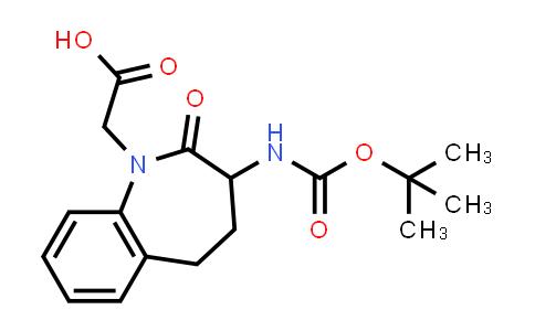 103105-97-1 | 1H-1-Benzazepine-1-acetic acid, 3-[[(1,1-dimethylethoxy)carbonyl]amino]-2,3,4,5-tetrahydro-2-oxo-