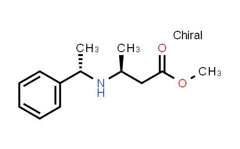 103123-51-9 | (S)-methyl 3-((S)-1-phenylethylamino)butanoate