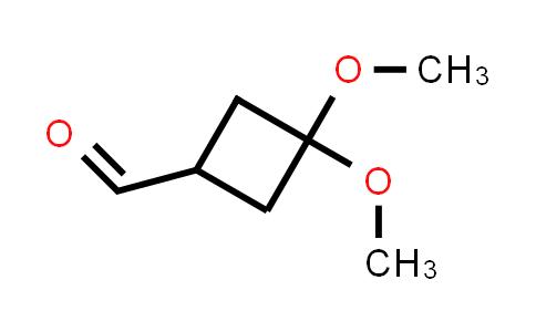 1031334-86-7 | 3,3-Dimethoxycyclobutane-1-carbaldehyde