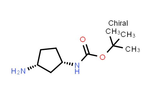 1031335-25-7   tert-Butyl N-[(1S,3R)-3-aminocyclopentyl]carbamate