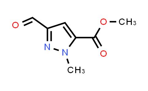 1031351-95-7   Methyl 3-formyl-1-methyl-1H-pyrazole-5-carboxylate