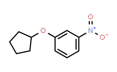 1031442-10-0   1-Cyclopentyloxy-3-nitrobenzene