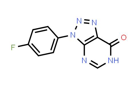 1031558-09-4   3-(4-Fluorophenyl)-3,6-dihydro-7H-[1,2,3]triazolo[4,5-d]pyrimidin-7-one