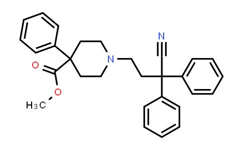 103166-95-6 | 4-Piperidinecarboxylic acid, 1-(3-cyano-3,3-diphenylpropyl)-4-phenyl-, methyl ester
