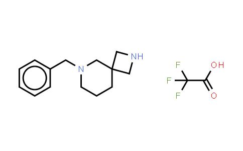 1031817-84-1 | 2,6-Diazaspiro[3.5]nonane, 6-(phenylmethyl)-, (2,2,2-trifluoroacetate) (1:1)