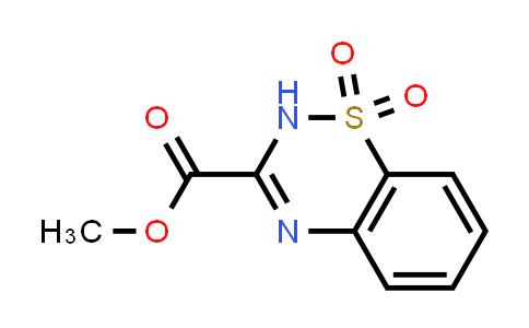 1031967-52-8 | Methyl 2H-benzo[e][1,2,4]thiadiazine-3-carboxylate 1,1-dioxide