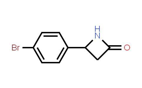 103247-89-8 | 4-(4-Bromophenyl)azetidin-2-one