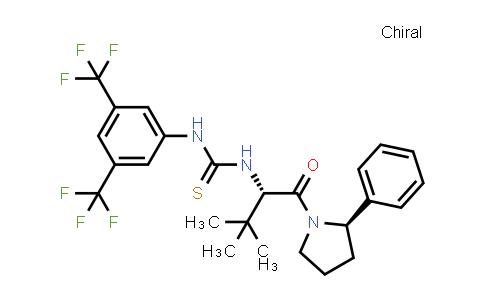 1032509-40-2 | N-[3,5-Bis(trifluoromethyl)phenyl]-N'-[(1S)-2,2-dimethyl-1-[[(2R)-2-phenyl-1-pyrrolidinyl]carbonyl]propyl]thiourea