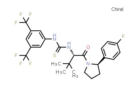 1032509-41-3 | N-[3,5-Bis(trifluoromethyl)phenyl]-N'-[(1S)-1-[[(2R)-2-(4-fluorophenyl)-1-pyrrolidinyl]carbonyl]-2,2-dimethylpropyl]thiourea