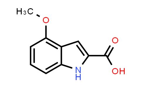 103260-65-7 | 4-Methoxyindole-2-carboxylic acid