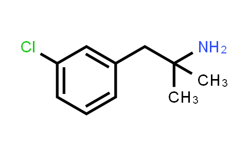 103273-65-0   1-(3-chlorophenyl)-2-methylpropan-2-amine