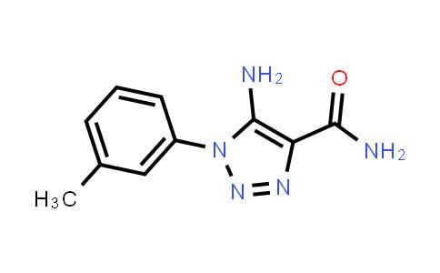 103274-40-4   5-Amino-1-(3-methylphenyl)-1H-1,2,3-triazole-4-carboxamide