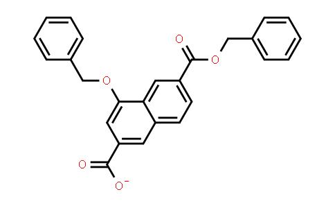 1032744-71-0 | 2,6-Naphthalenedicarboxylic acid, 4-(phenylmethoxy)-, 6-(phenylmethyl) ester