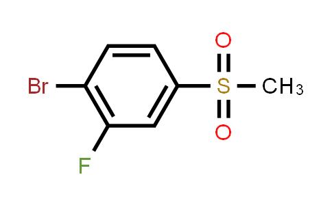 1032825-02-7   1-Bromo-2-fluoro-4-(methylsulfonyl)benzene