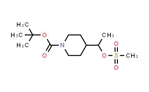 1032825-55-0 | 4-[1-[(Methylsulfonyl)oxy]ethyl]-1-piperidinecarboxylic acid 1,1-dimethylethyl ester