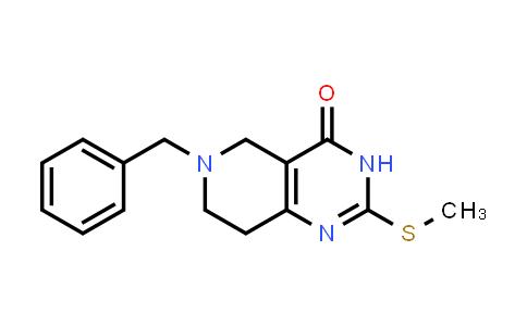 1033-34-7 | 6-Benzyl-2-(methylthio)-5,6,7,8-tetrahydropyrido[4,3-d]pyrimidin-4(3H)-one