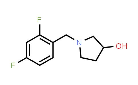 1033012-65-5 | 1-[(2,4-Difluorophenyl)methyl]pyrrolidin-3-ol