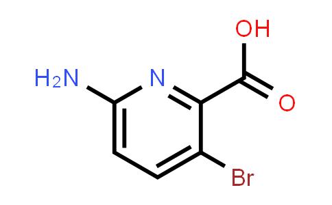 1033201-61-4 | 6-Amino-3-bromopicolinic acid