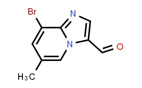 1033202-08-2 | 8-Bromo-6-methylimidazo[1,2-a]pyridine-3-carbaldehyde