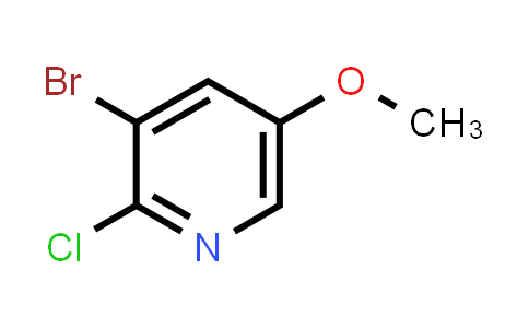 1033202-44-6 | 3-Bromo-2-chloro-5-methoxypyridine