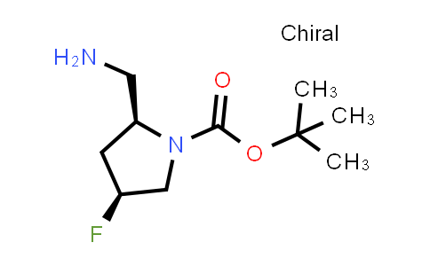 1033245-12-3 | tert-Butyl (2S,4S)-2-(aminomethyl)-4-fluoropyrrolidine-1-carboxylate