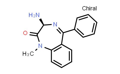 103343-66-4 | (S)-3-Amino-1-methyl-5-phenyl-1,3-dihydro-2H-benzo[e][1,4]diazepin-2-one