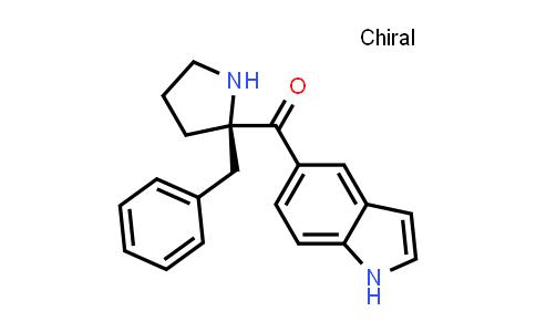 1033815-05-2 | (R)-(2-Benzylpyrrolidin-2-yl)(1H-indol-5-yl)methanone