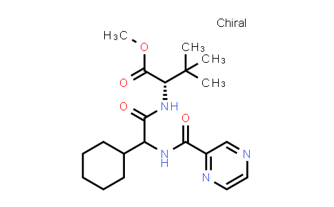 1033882-29-9 | Methyl (2S)-2-(2-cyclohexyl-2-(pyrazine-2-carboxamido)acetamido)-3,3-dimethylbutanoate