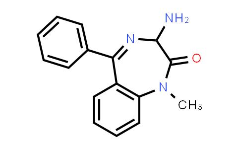 103421-61-0   3-Amino-1-methyl-5-phenyl-1,3-dihydro-2H-1,4-benzodiazepin-2-one