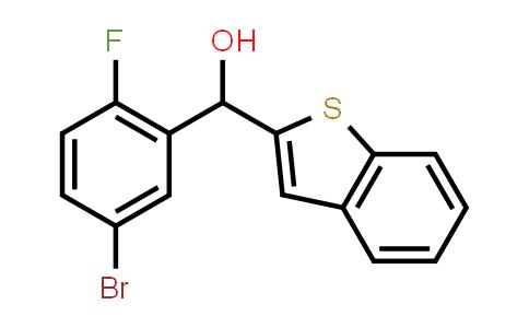 1034305-11-7 | Benzo[b]thiophen-2-yl(5-bromo-2-fluorophenyl)methanol