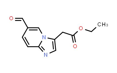 1034309-61-9 | Ethyl 2-(6-formylimidazo[1,2-a]pyridin-3-yl)acetate