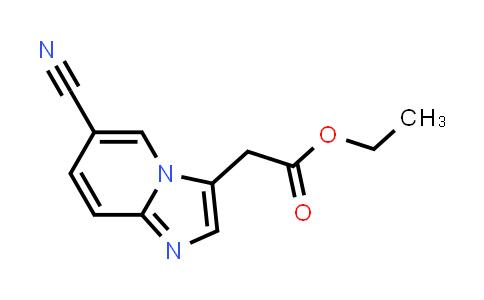 1034309-63-1   Ethyl 2-(6-cyanoimidazo[1,2-a]pyridin-3-yl)acetate
