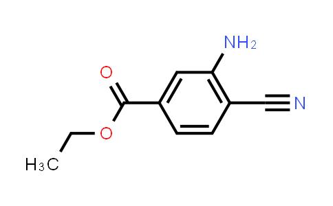 1034470-00-2 | Ethyl 3-amino-4-cyanobenzoate