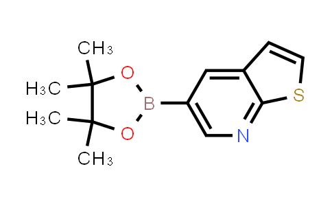 1034579-02-6 | 5-(4,4,5,5-Tetramethyl-1,3,2-dioxaborolan-2-yl)thieno[2,3-b]pyridine