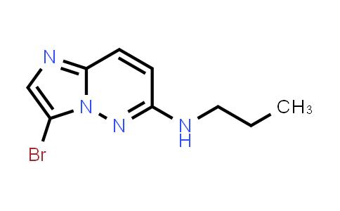 1034621-79-8 | 3-Bromo-N-propylimidazo[1,2-b]pyridazin-6-amine