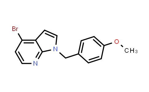 1035096-95-7   1H-Pyrrolo[2,3-b]pyridine, 4-bromo-1-[(4-methoxyphenyl)methyl]-