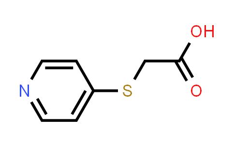 10351-19-6   2-(Pyridin-4-ylthio)acetic acid